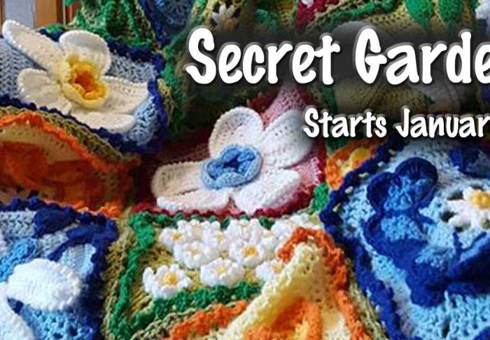 Secret Garden CAL – Block 1