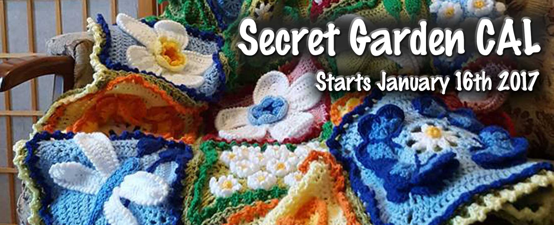 Secret Garden CAL – Block 1