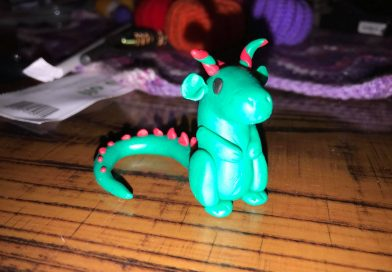 Polymer Clay Dragon  Tutorial