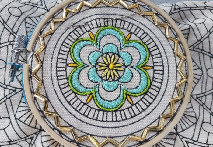 Hand Embroidery Series – Beading