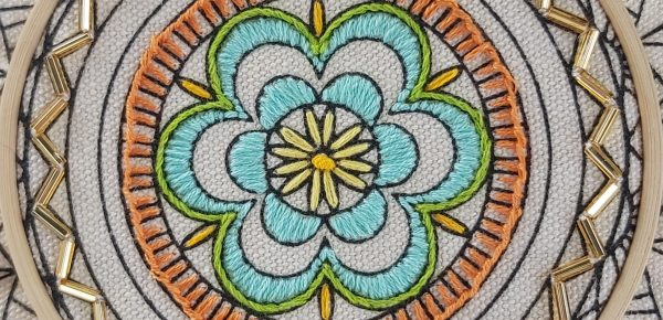 Hand Embroidery Tutorial – Stem Stitch