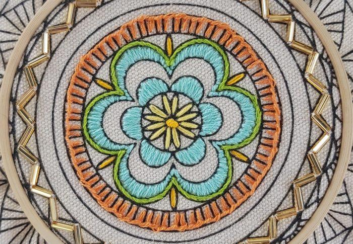 Hand Embroidery Tutorial – Stem Stitch