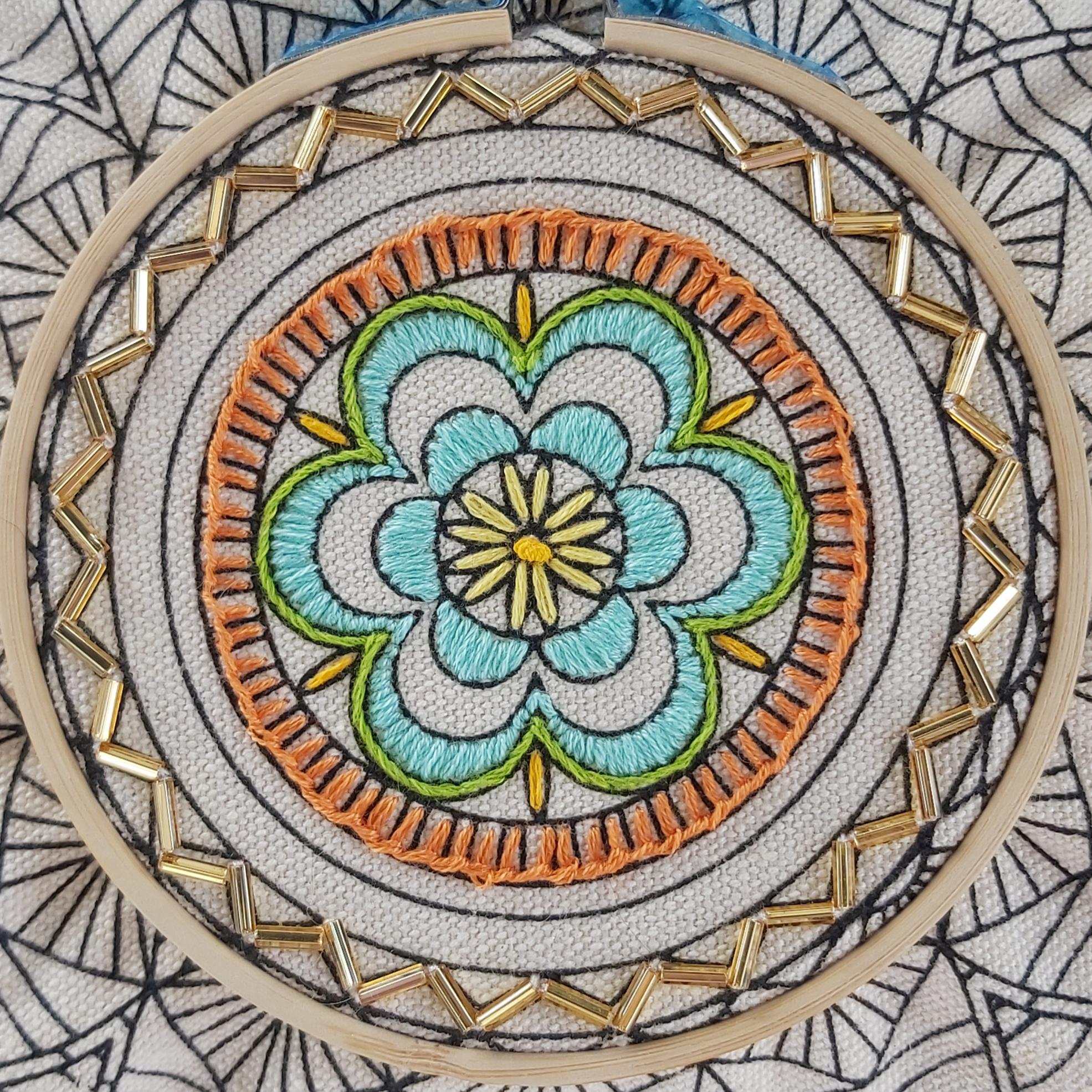 Hand Embroidery Tutorial Stem Stitch Unravel Unwind C I C