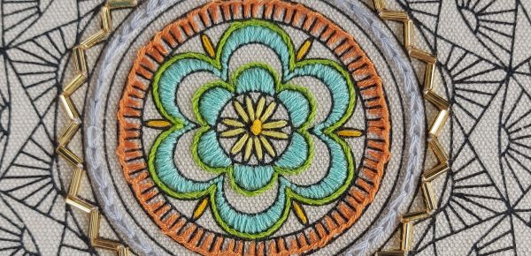 Hand embroidery tutorial – chain stitch