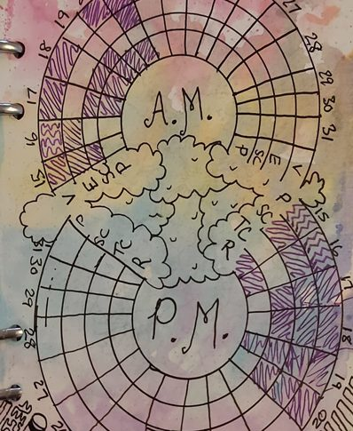 Plan With Me – AM/PM Tracker
